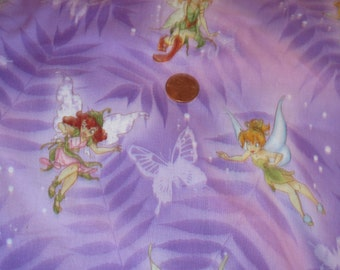 Tinker Bell and Disney Fairies Fabric