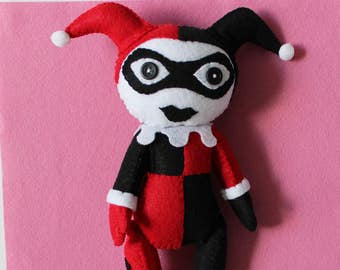 Harley Quinn Plush Etsy