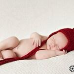 Baby Hat with Large Oversize Pom-Pom, Newborn Earflap  Aviator Cap