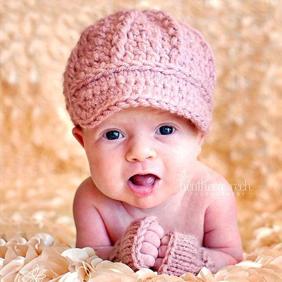 Ziemlich Frei Hut Newsboy Häkelmuster Für Babys Zeitgenössisch