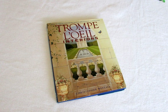 trompe l oeil interiors learn to paint books painting etsy
