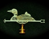 Duck and Duckling Weathervane Finial Odd and Charming