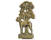 Great Dane Door Knocker Vintage Brass