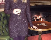 Gauntlet Sleeve Yoke Dress Knitting Pattern (PDF File)