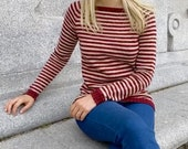 Bordeaux Sweater Knitting Pattern (PDF File)