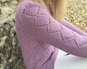 Serene Tunic Top Knitting Pattern (PDF File)