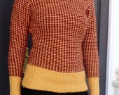 Tweed Stitch Sweater Knitting Pattern (PDF File)