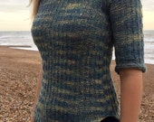Pebble V-neck Top Pattern (PDF File)