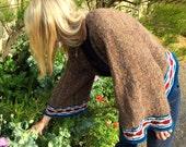 Kimono Top Knitting Pattern (PDF File)