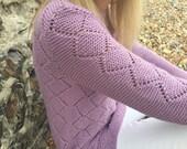 Serene Tunic Top Knitting Pattern (PDF File)