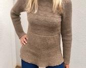 Ember Tunic Top Knitting Pattern (PDF File)
