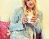 Shelley Cardigan Knitting Pattern (PDF File)