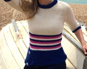 Nautical Top Knitting Pattern (PDF File)