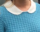 Waffle Stitch Top Knitting Pattern (PDF File)