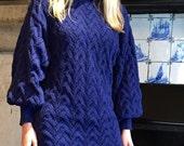Aspen Sweater Knitting Pattern (PDF File)