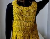 Sunshine Waistcoat Knitting Pattern (PDF File)