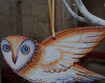 Hanging Owl Decoration
