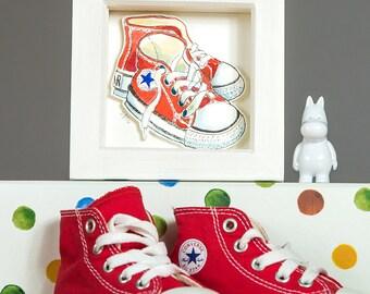 Little shoes portrait