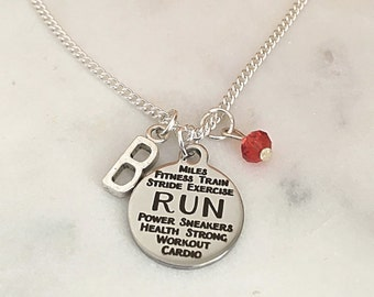 Personalized Runners Necklace