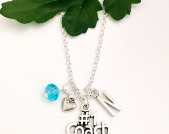 Personalized #1 Coach Necklace