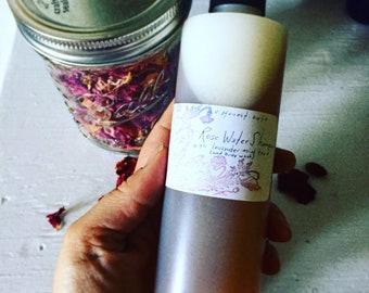 Rose Water Shampoo + Body Wash