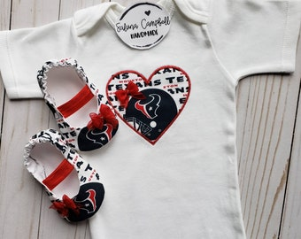 a7aa0143e Houston Texans Inspired Daddys Girl Shirt and Matching