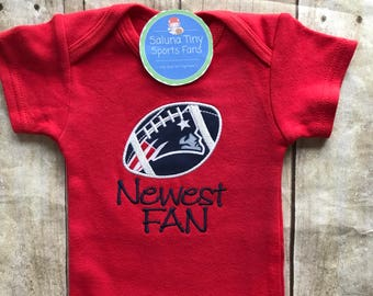 New England Patriots Newest Fan Shirt or Bodysuit