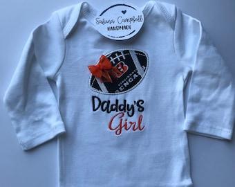 Cincinnati Bengals Daddy's Girl shirt or bodysuit