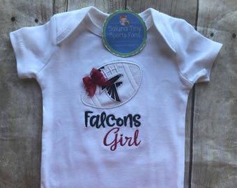 Atlanta Falcons Girl Shirt or bodysuit