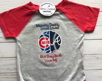Baseball house divided baby bodysuit or shirt | you pick teams