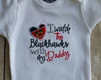 Chicago Blackhawks Inspired shirt or bodysuit