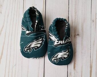 JEWELS FASHION Sports Fans Philadelphia Baby Slippers