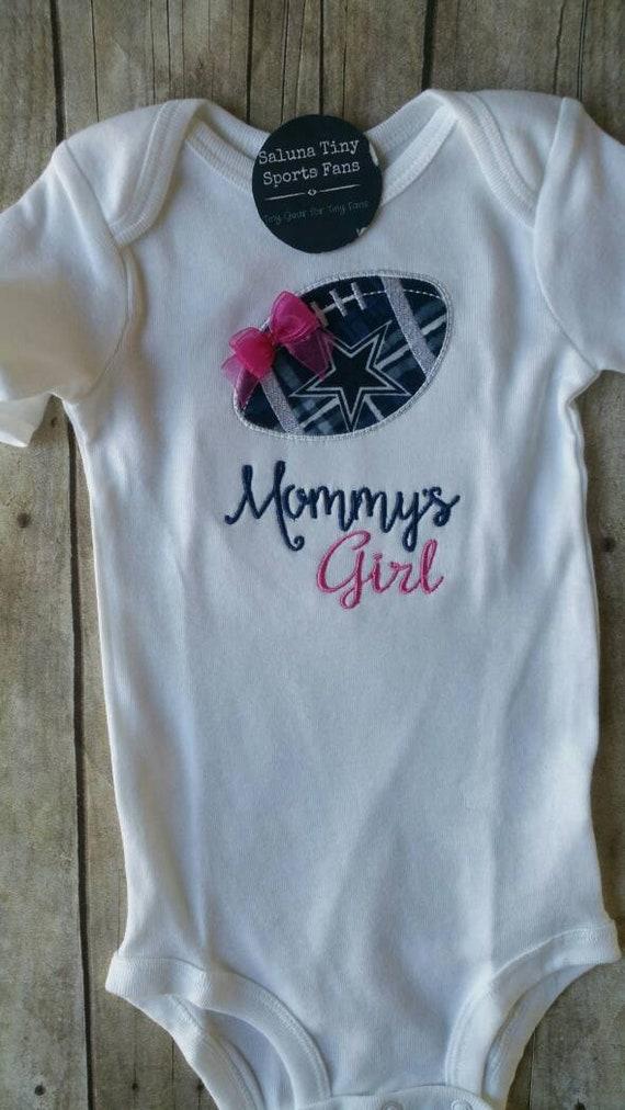 bbb53dfbf Dallas Cowboys Inspired Mommy s Girl Shirt