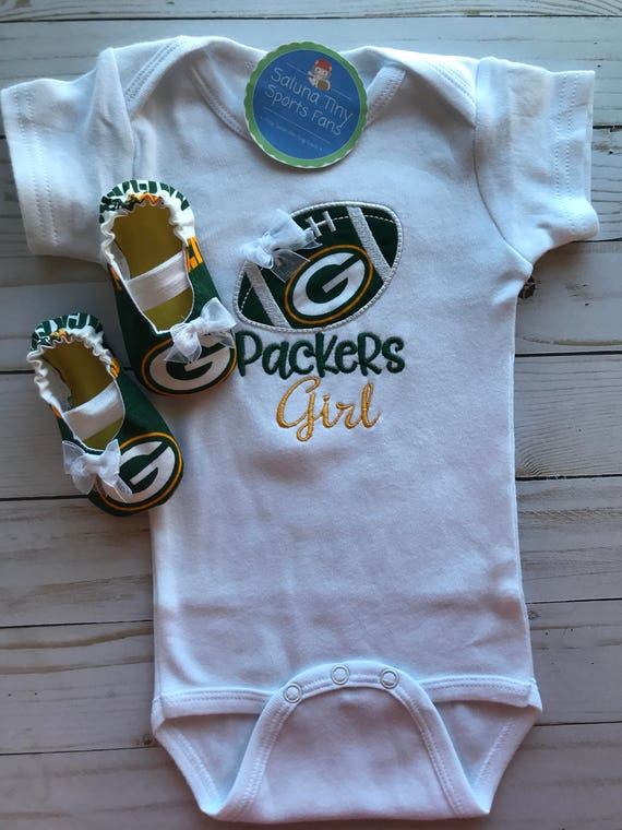 7fbcdad30 Green Bay Packers Girl Shirt and maryjanes