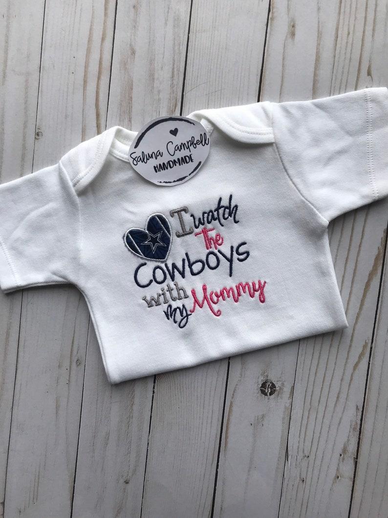 877a5ea7 Dallas Cowboys Mommy Baby Shirt or Bodysuit
