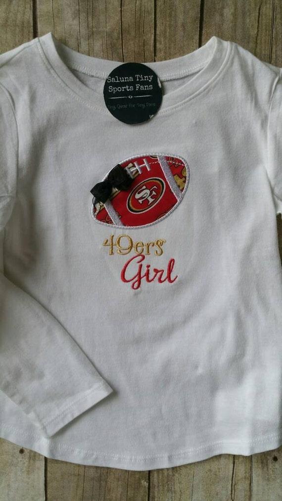 San Francisco 49ers Girl Shirt or bodysuit  9a9167bc6