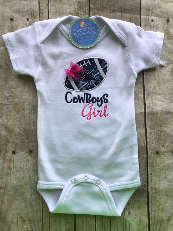 34ed7020 Dallas Cowboys Girl Shirt or bodysuit