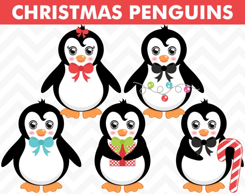 Clipart Christmas Penguins Penguin Clip Art Penguin