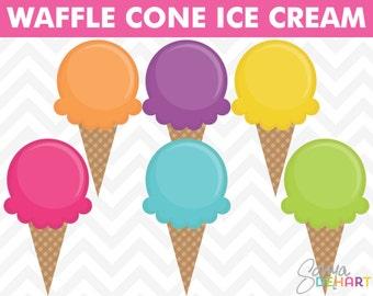 Ice Cream Clipart, Summer Clipart, Birthday Clipart, Party Clipart, Summer Clip Art, Ice Cream Clip Art, Party Clip Art