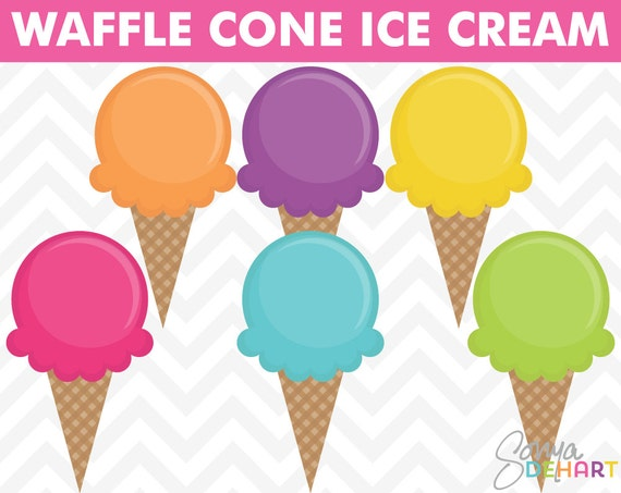 Ice Cream Clipart Summer Clipart Birthday Clipart Party Clipart