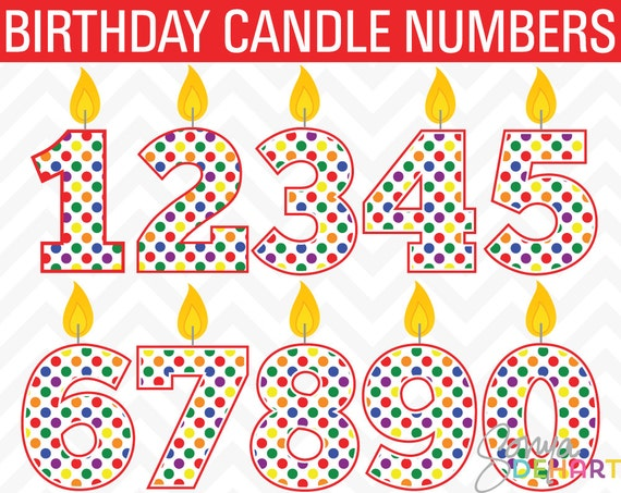 Birthday Clipart Candle Clip Art