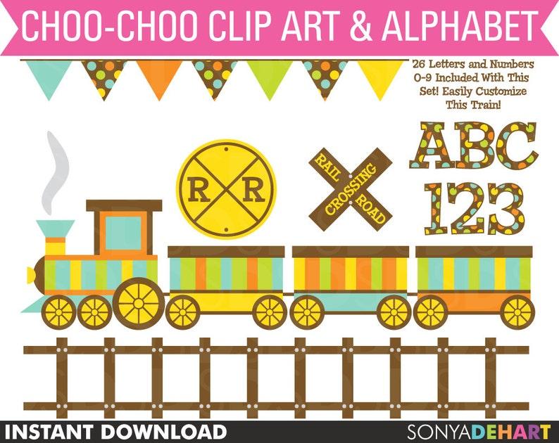 Train Clipart, Train Clip Art, Birthday Clipart, Boy Clipart, Birthday Clip  Art, Digital Train, Clipart, Clip Art