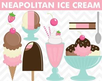 Ice cream clip art, ice cream clipart, clip art, ice cream cone, clipart, digital ice cream, summer clip art, food clipart, summer clipart