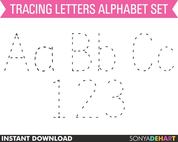 image about Tracing Alphabet Printable named Tracing Alphabet alphabet, tracing letters, tracing