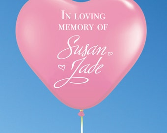 Custom Balloons For Memorials And Other Occasions
