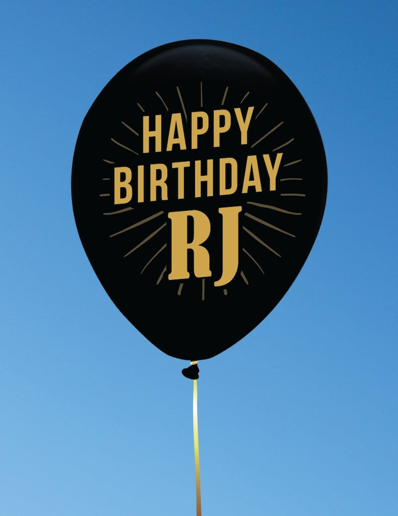 Custom Balloons for Birthdays and other Occasions