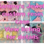 Decoden Cell Phone Case Custom Kawaii and Creepy Cute Resin Phone Case