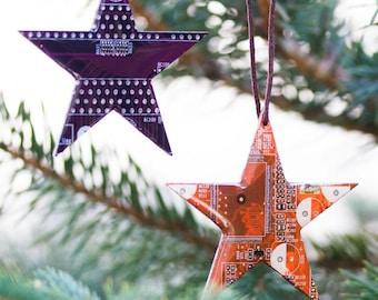 Ornement de Noël de Star - vacances - décor de Noël geek