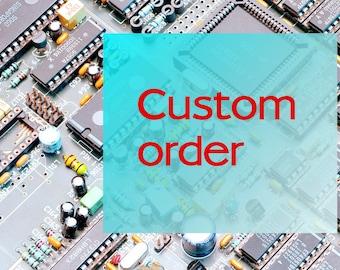 Custom listing for M