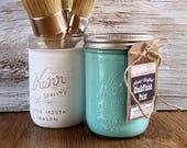 Handmade Chalk Paint, Turquoise, Bathroom Wall Art, Living Room Art, Nursery, Bathroom Decor, Bathroom Art, Bathroom Sign, Bedroom Wall Art